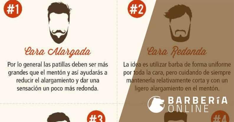 Los 10 Estilos de Barba Que Van Con Tu Forma de Cara